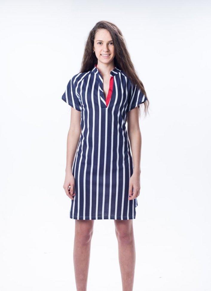 Платье трикотажное Динара фото