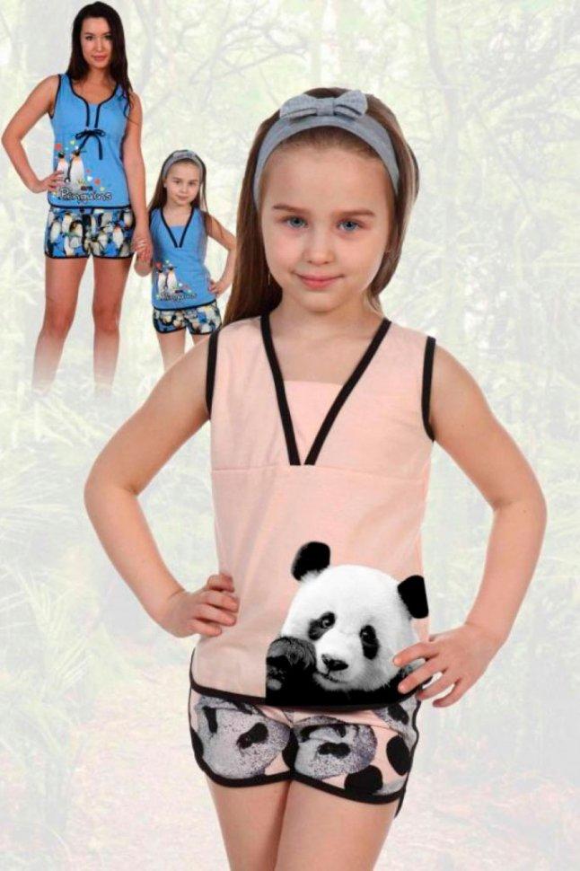 Купить Пижама детская Полетта (панды) рр, Инсантрик, Пижамы