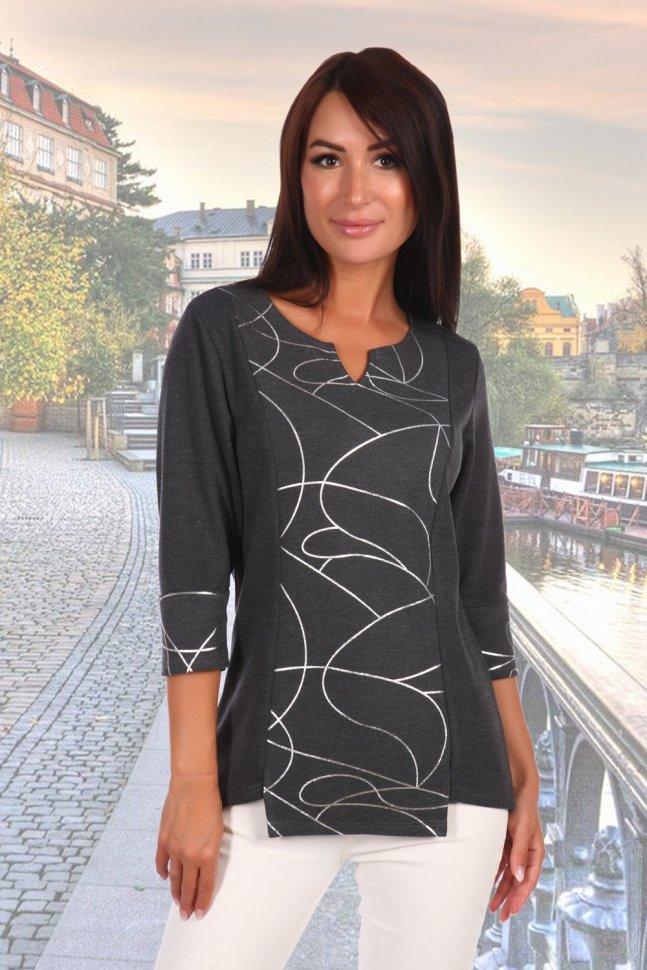 Блуза вискозная Комплимент фото