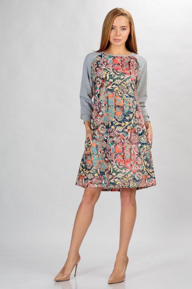 Платье трикотажное Вилма фото