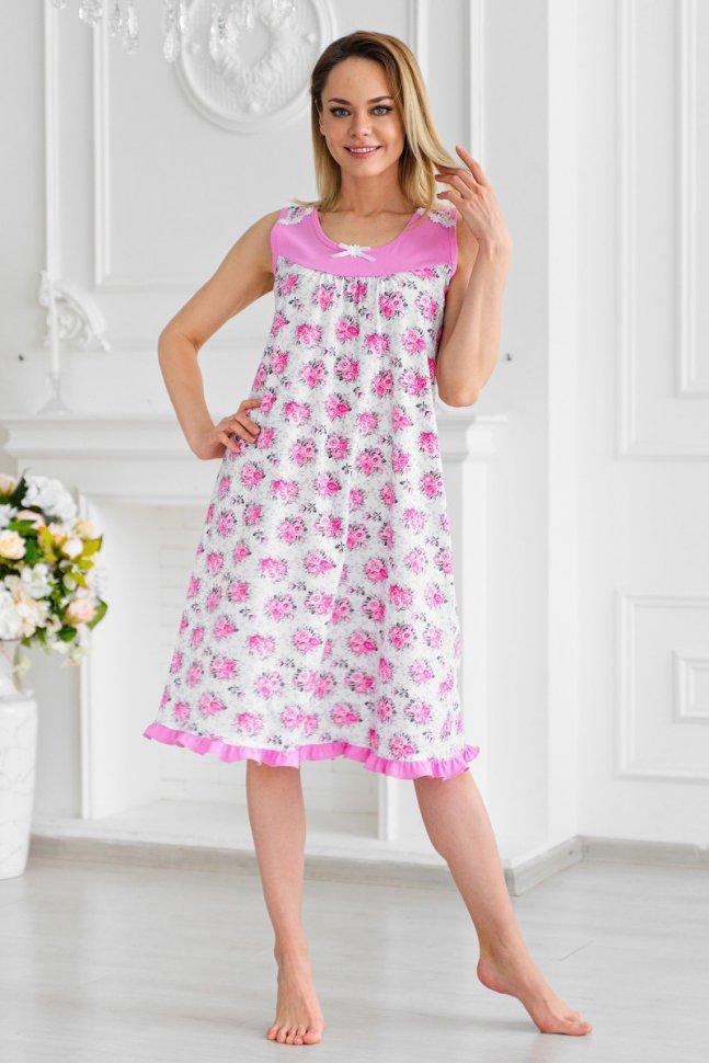 Ночная сорочка Бенедикта (розовая)