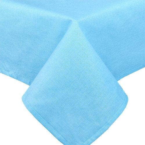 Скатерть 145x145 Цвет эмоций (голубая)