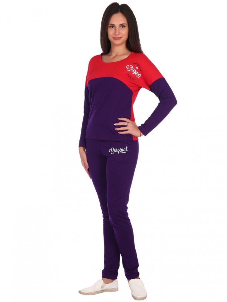 Костюм трикотажный Тарина (фиолетовый) фото