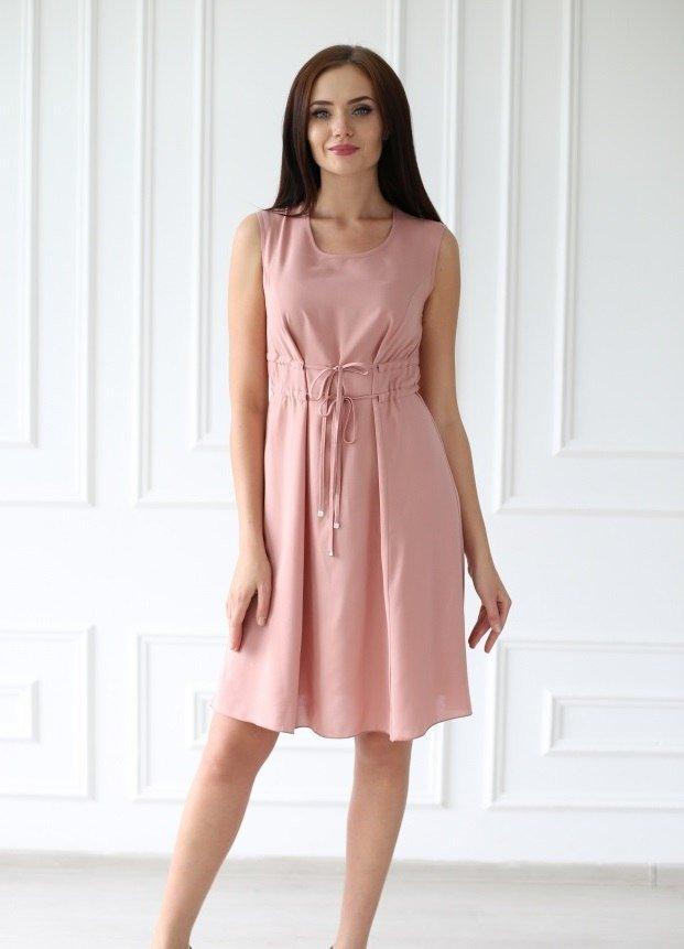 Платье вискозное Катя (в ассортименте) фото