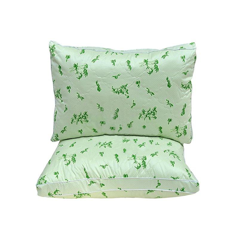 Подушка бамбук 70x70 с чехлом из полиэстера