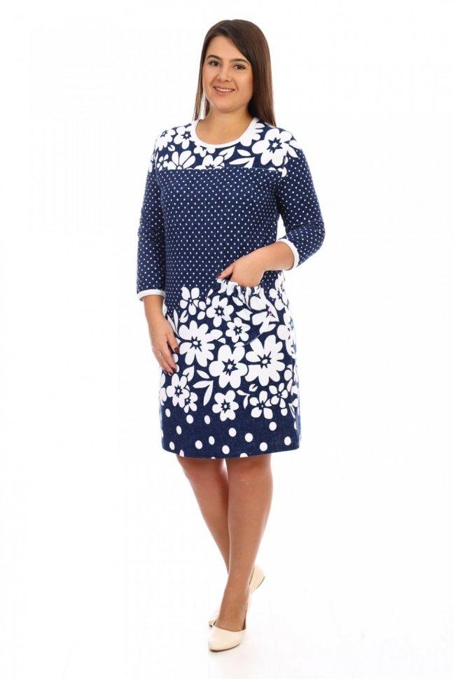 Платье махровое Маруся фото