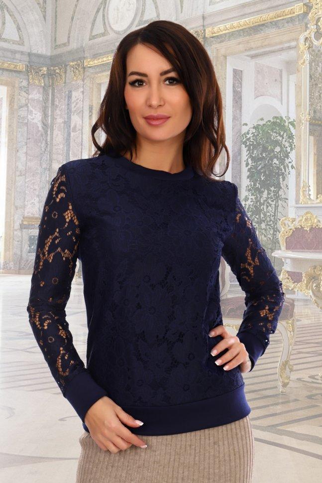 Блуза трикотажная Колибри фото
