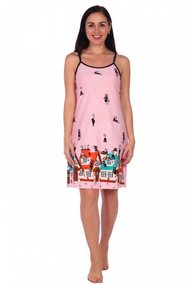 Ночная сорочка Ксюша (розовая) Инсантрик фото