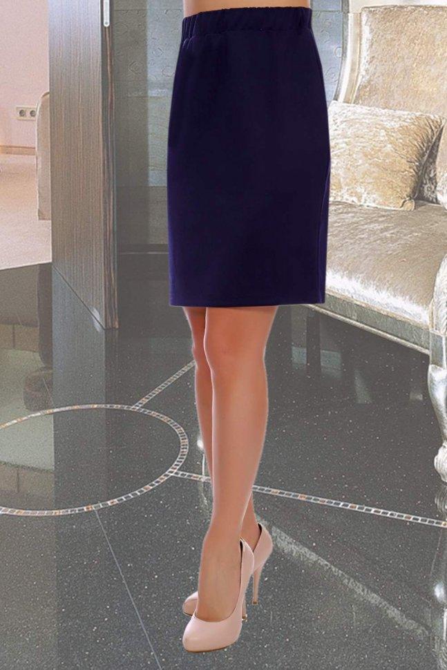 Юбка Патриция (синяя) фото