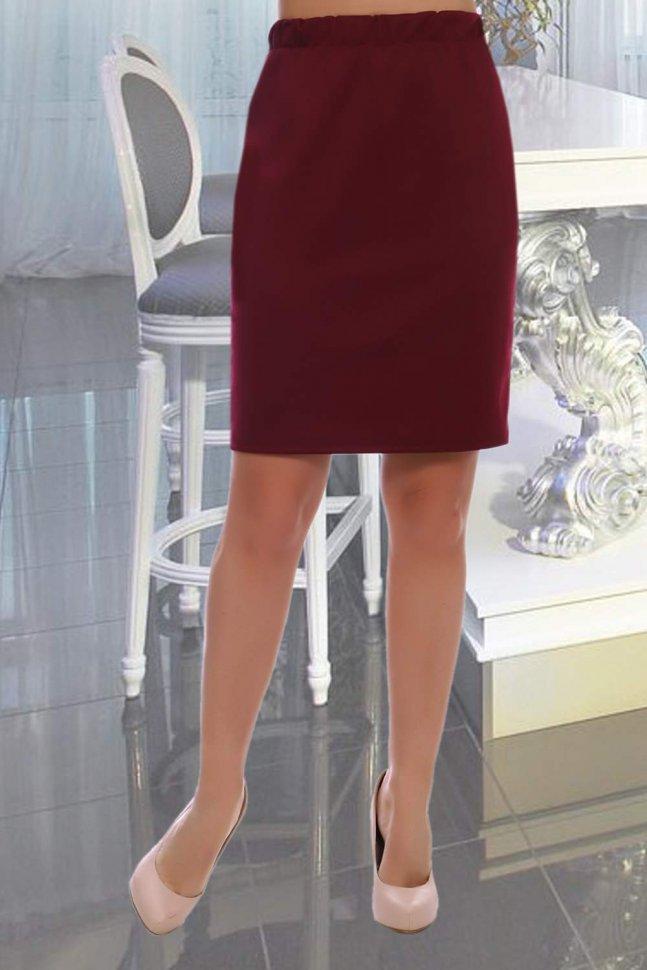 Юбка Патриция (бордовая)