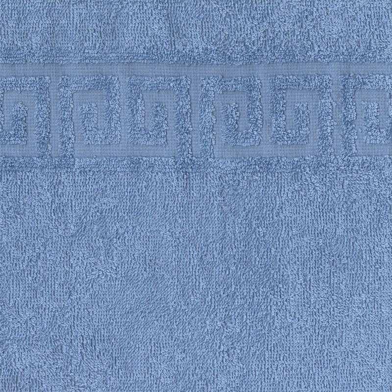 Полотенце махровое 40x70 Ашхабад (голубое) фото