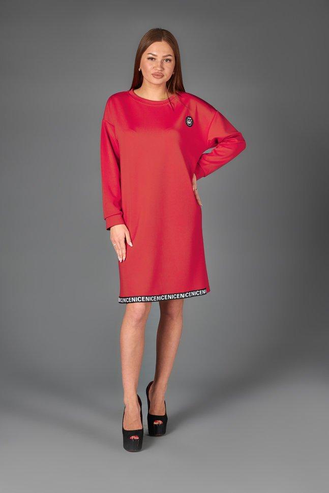 Платье трикотажное Грэния фото
