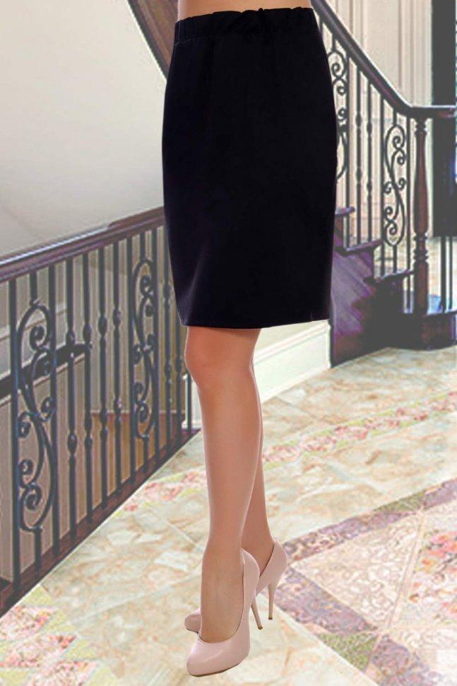 Юбка Патриция (черная) фото