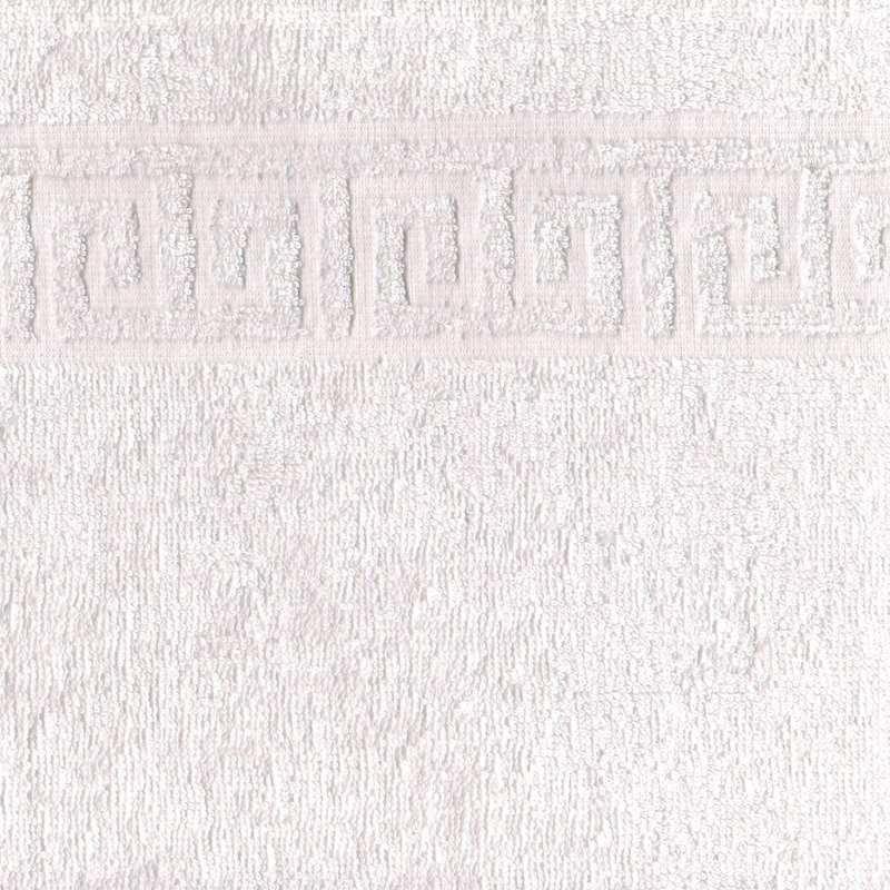 Полотенце махровое 40x70 Ашхабад (белое) фото