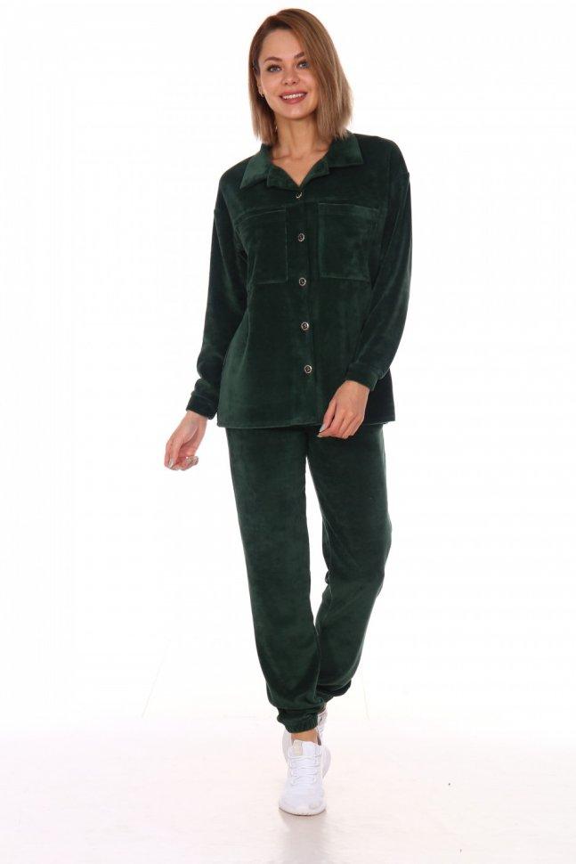 Костюм велюровый Уилма (темно-зеленый) Инсантрик 60588