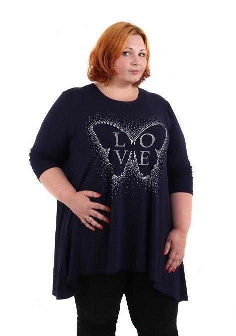Блуза вискозная Люба фото