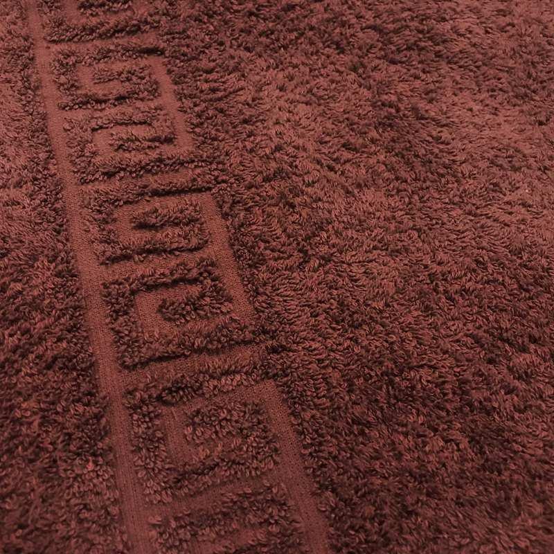 Полотенце махровое 50x90 Ашхабад (шоколадное) фото
