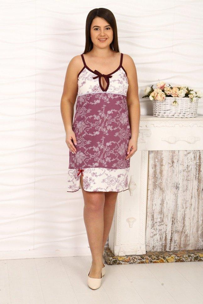 Ночная сорочка Вэлла (темно-розовая)