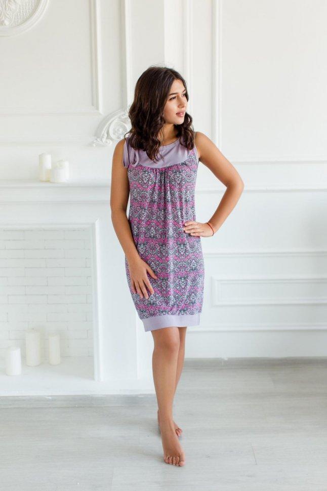 Платье трикотажное Кэролайн фото