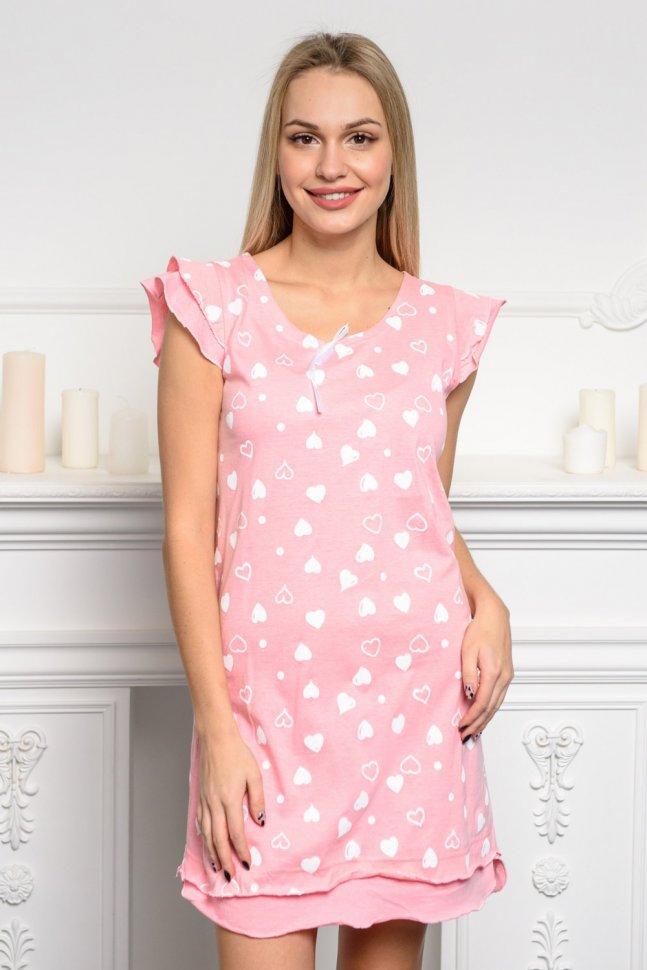 Ночная сорочка Лав (розовая)