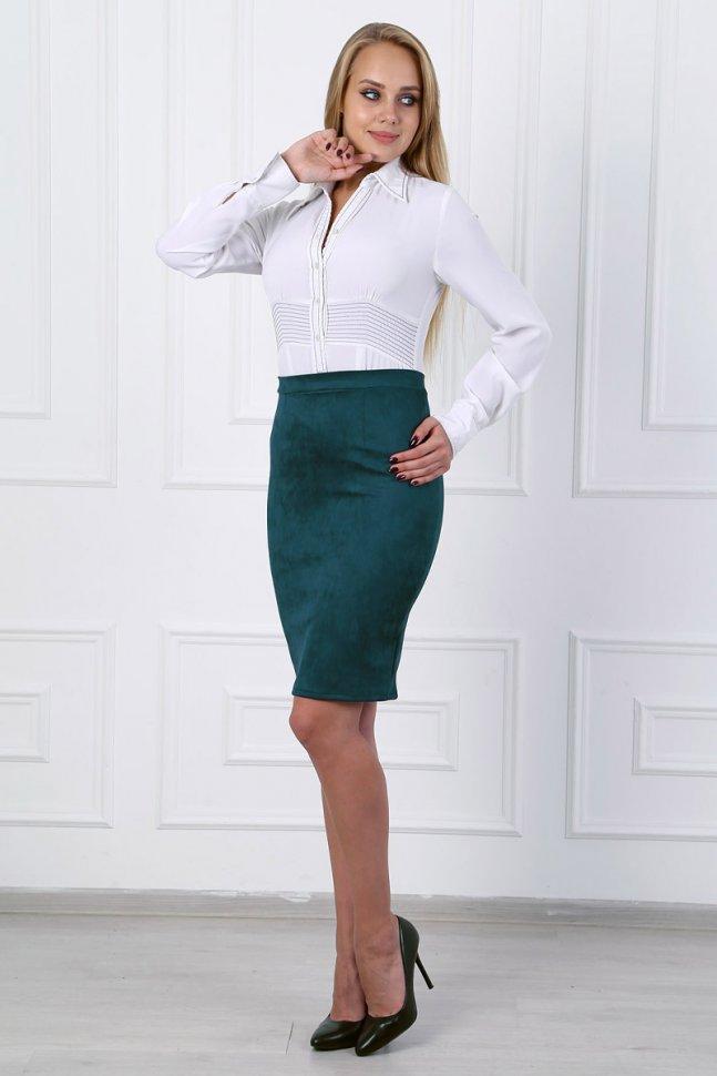 Юбка Энрика (зеленая) фото