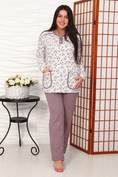 Пижама трикотажная Дагни фото