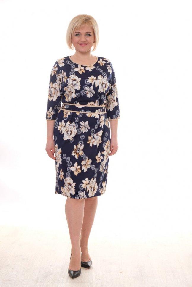 Платье трикотажное Лана фото