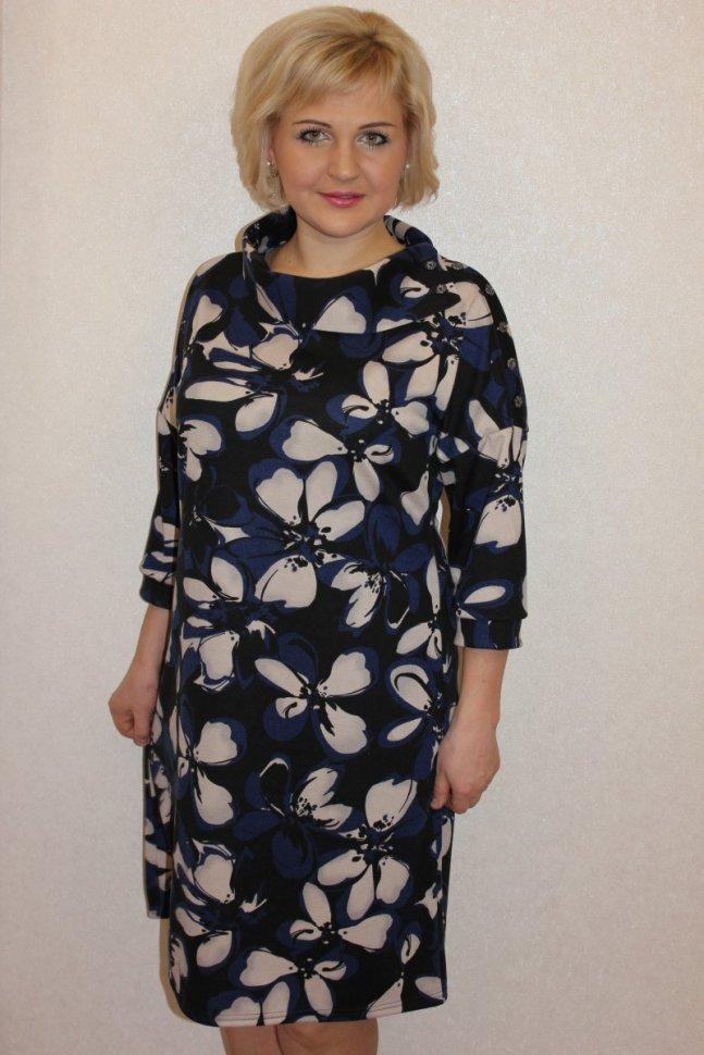Платье трикотажное Марибет фото
