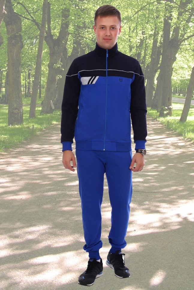 Костюм мужской Вилли (синий) фото