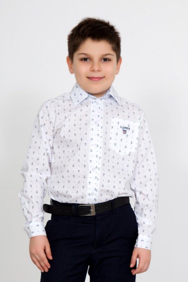 Рубашка детская Идон (белая)Рубашки<br><br>