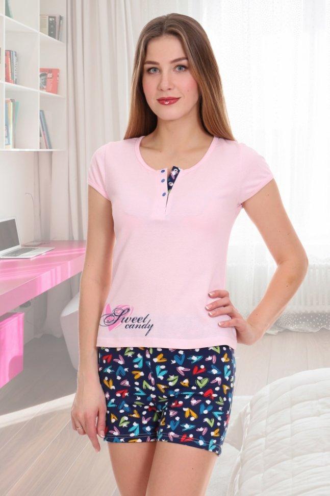 Купить со скидкой Пижама трикотажная Сладкая