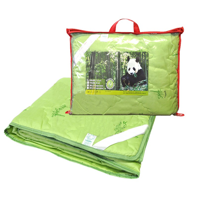 Одеяло бамбук евро макси с чехлом из поплина (тонкое)Одеяла<br><br>