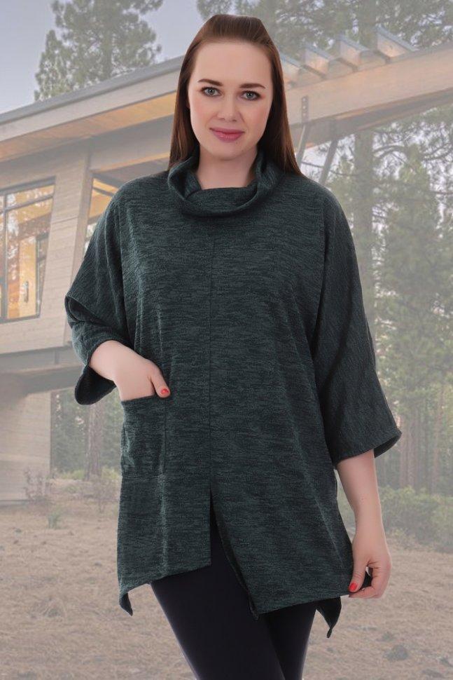 Кофта трикотажная Мигле (зеленый)