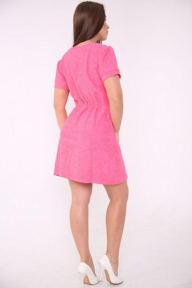Халат махровый Одреа (розовый)