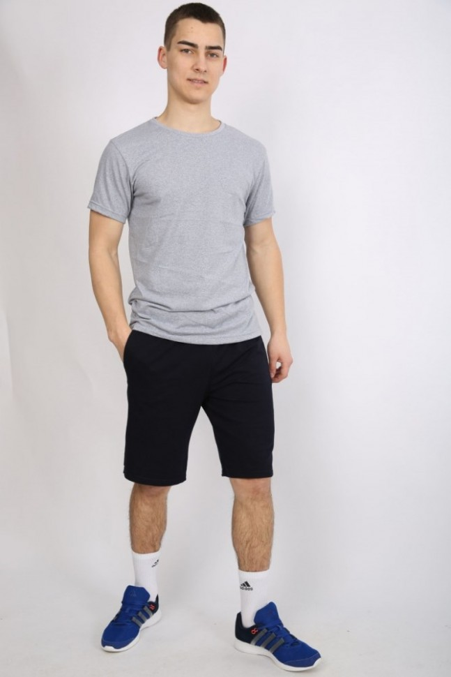 Костюм мужской Бенсон (серый)Костюмы<br><br>Цвет: Серый, Черный; Размер RU: 46, 48, 50, 52, 54;