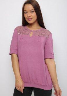 Женская трикотажная блузка Жасмин