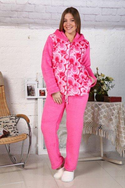 Костюм трикотажный Дария (розовый)Костюмы<br><br>Цвет: Розовый; Размер RU: 42, 44, 46, 48;