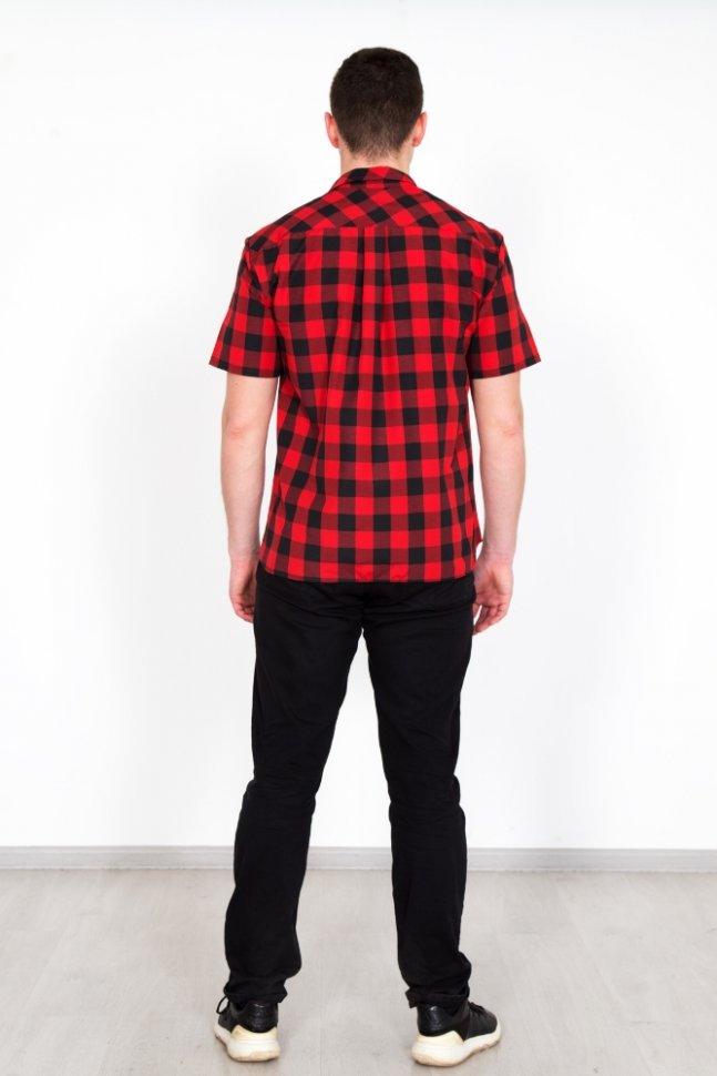 Рубашка мужская Армандо (красная)