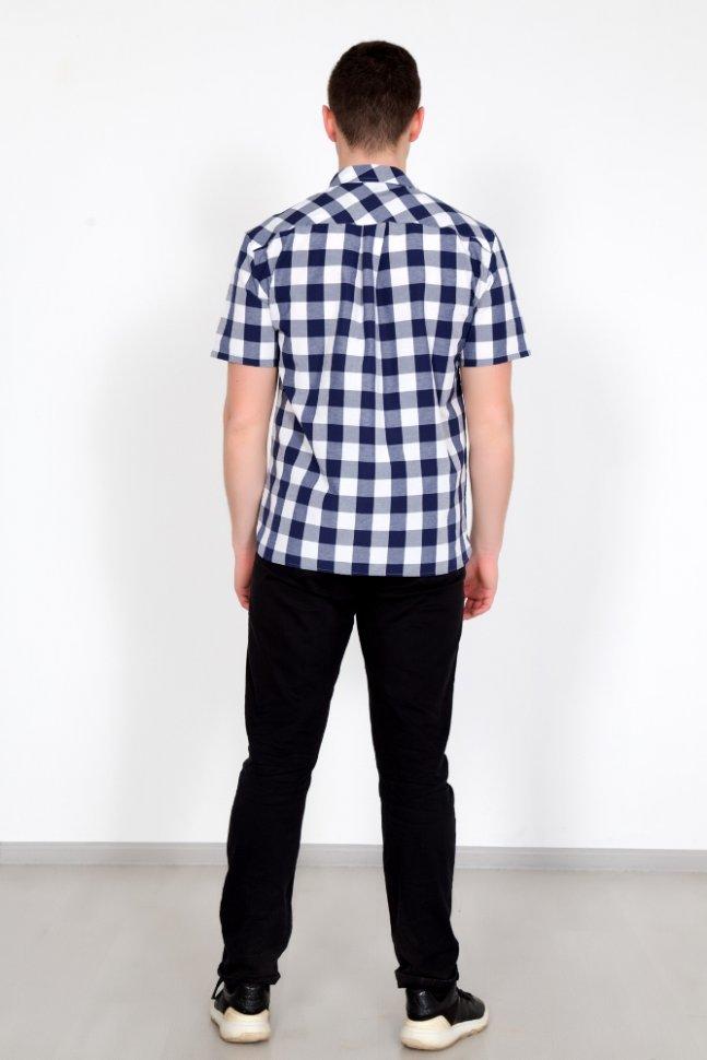 Рубашка мужская Армандо (синяя)