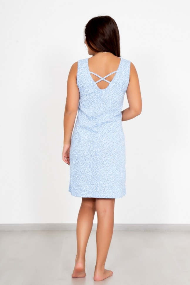 Ночная сорочка Лалия (голубая)