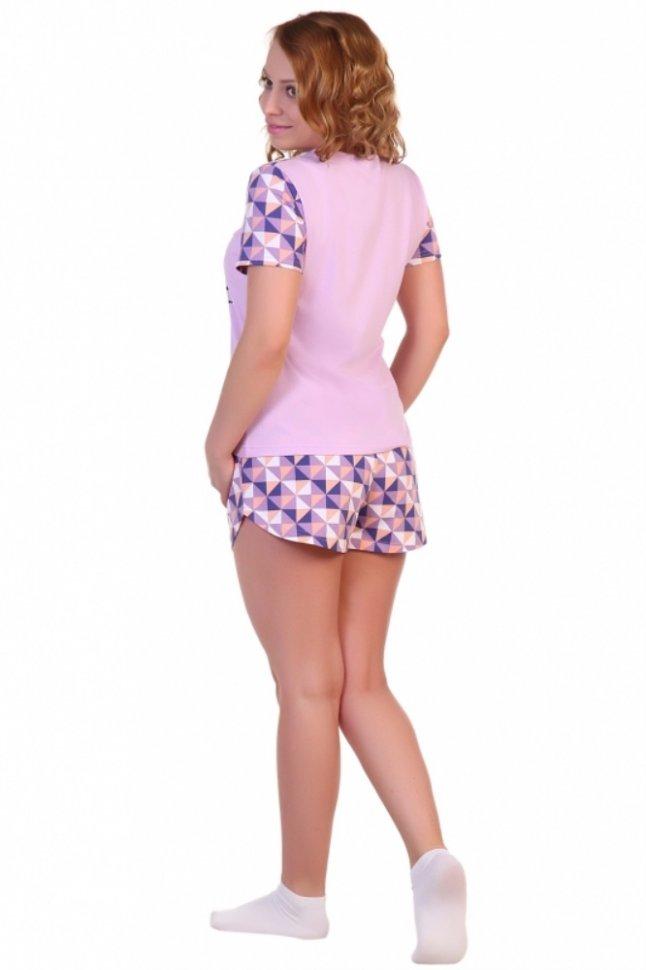 Пижама трикотажная Марсия (лиловая)