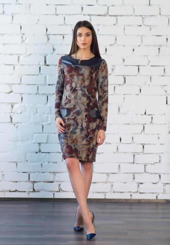 Платье из ангоры Лина None
