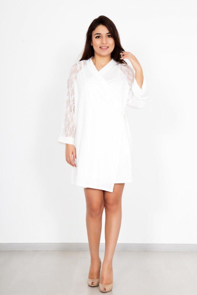 Комплект трикотажный АминНочные сорочки<br><br>Цвет: Белый; Размер RU: 44, 46, 48, 50, 52, 54;