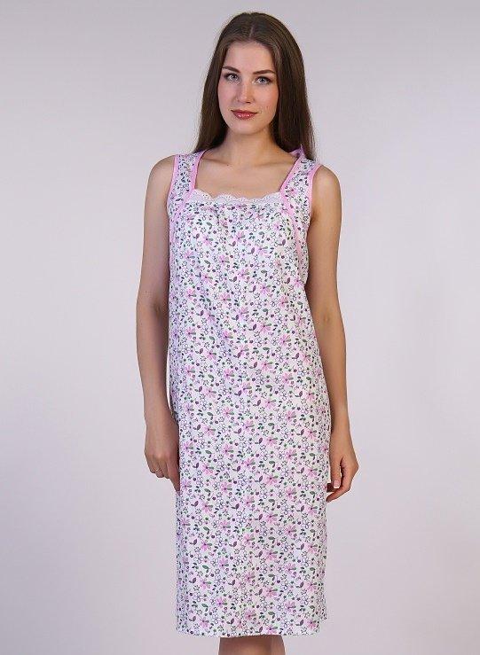 Ночная сорочка Норма (цветы)