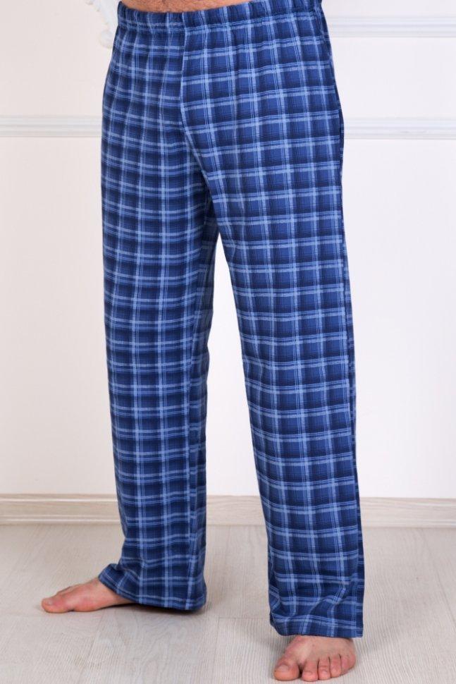 Брюки мужские трикотажные КлинтШорты, брюки<br><br>Цвет : Синий; Размер : 48, 50, 52, 54, 56, 58, 60, 62, 64, 66, 68, 70;