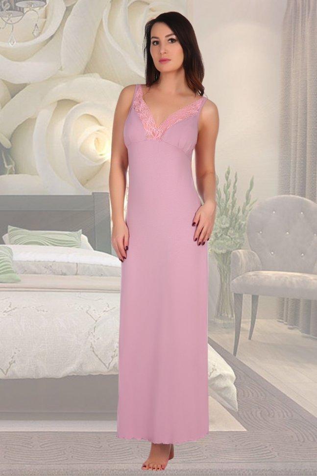 Ночная сорочка Ульяна (сухая роза)